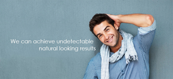 We can achieve undetectable natural looking results